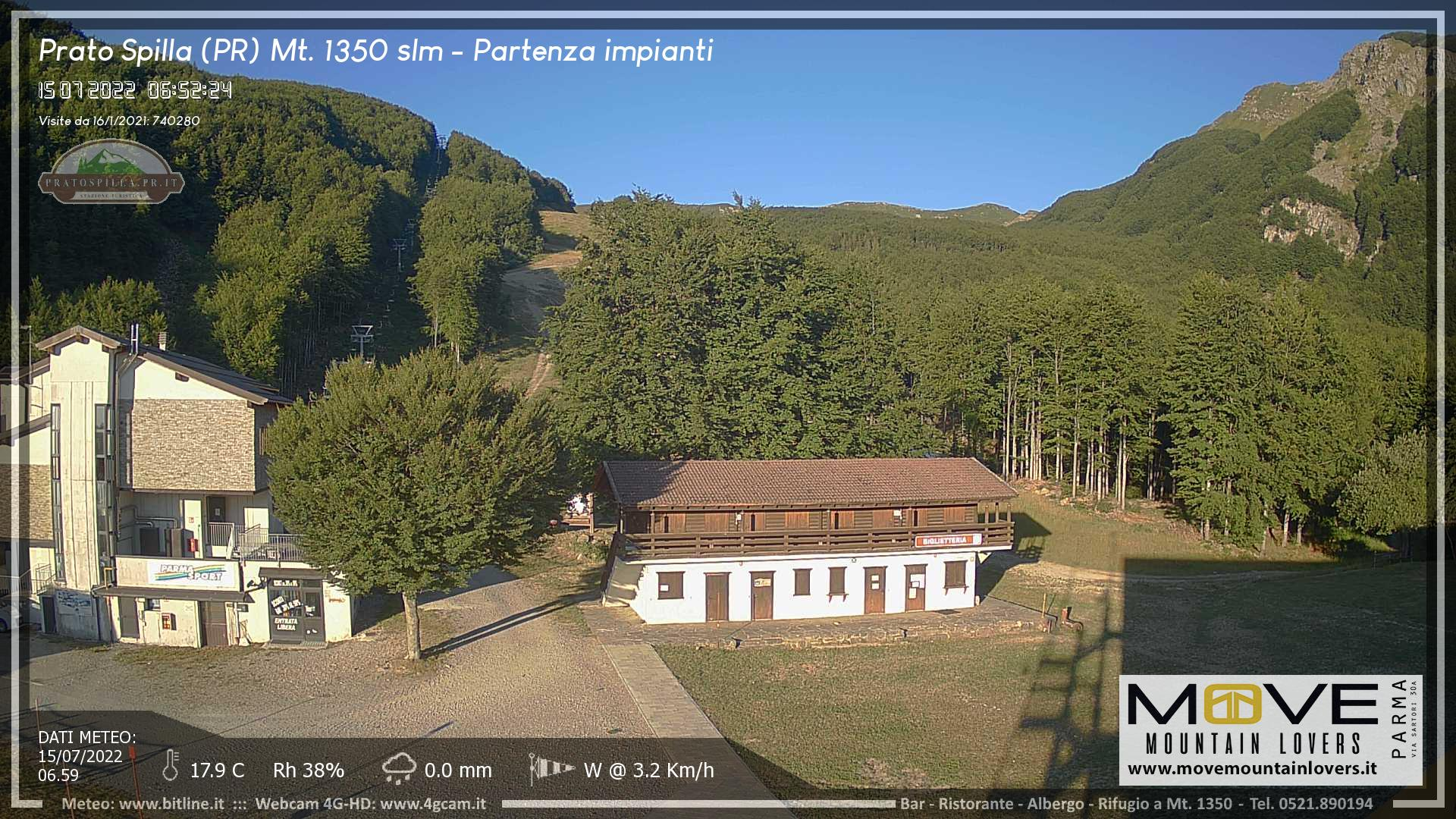 WEBCAM PRATO SPILLA