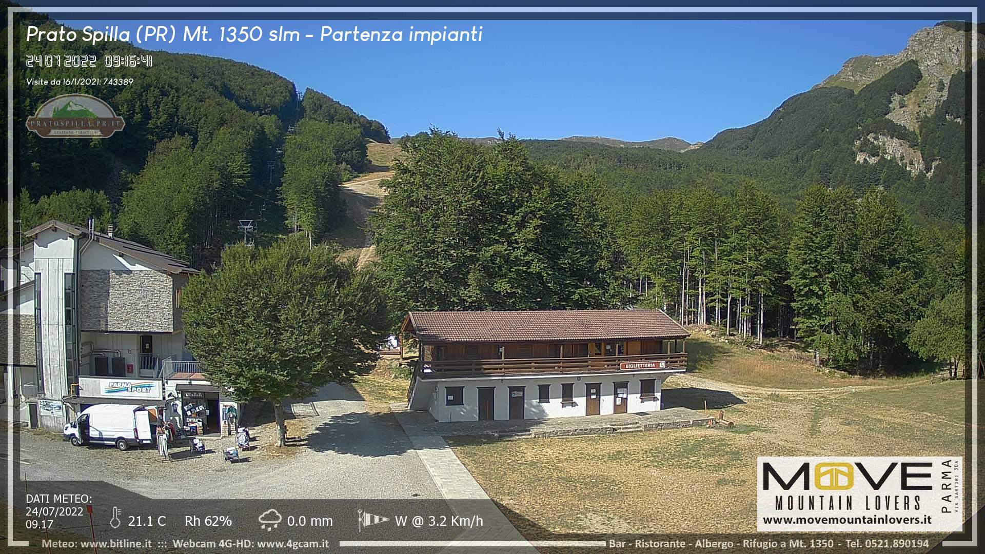 webcam pratospilla